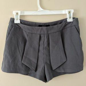 🆕 gray mini skort